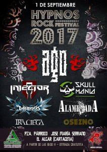 AGO EN EL HYPNOS ROCK FESTIVAL