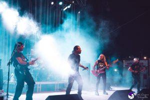 NOCHE INOLVIDABLE CON AGO EN EL HYNOS ROCK FESTIVAL EN EL ALGAR (CARTAGENA)
