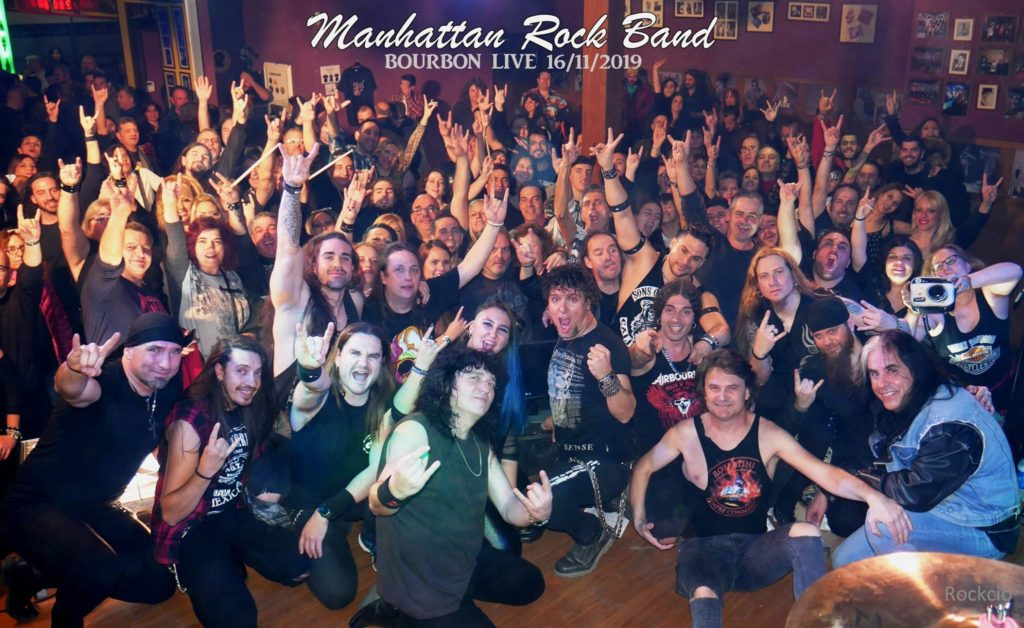 MANHATTAN ROCK BAND PARTIENDOLA EN YUNCOS